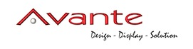 Avante Kiosks and Pop Displays Logo