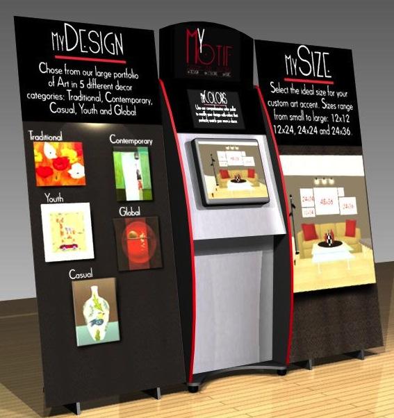 Interactive Retail POP Kiosks